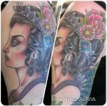 Alivia's colourwork